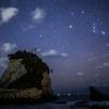 【天体撮影記 第73夜】 千葉県 星空撮影スポット 夫婦岩 (雀島)と冬の星座を撮影してきました。