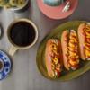 6/22(月)ズッキーニドッグ(トリプル)、ぶりのアラ汁と賃貸契約締結について
