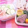 """脳活食材""""魚""""を色々食べようWEEK!ダイエットサラダランチ弁当No.12"""