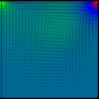 【差分法】MAC法で中心差分を用いてNavier-Stokes方程式を解きました C++コード付き