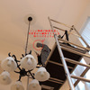 横浜市青葉区でシーリングファンの取り付け工事をしてきました。