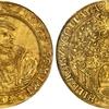 ドイツ ヒルデスハイム1528年5グルデン金貨MS61