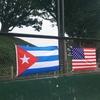 野毛公園(等々力)で若スポ国際草野球戦!USA vs CUBA!