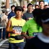 先頭通過から10分くらい:2km過ぎ@おかやまマラソン2016(13日)