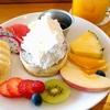 高松市のカフェ【ノースショア香川】フルーツたっぷりミニパンケーキ【NORTHSHORE KAGAWA】