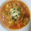 寒い日にぴったり!体にやさしい『野菜たっぷりの食べるスープ』。