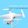 【ドローン】DJI PHANTOM 4 PRO V2.0用の低ノイズプロペラを購入してみた!【新旧プロペラ比較】