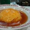 久し振りの餃子の王将で夕飯。天津飯が好きなので自分の好物だと気づきました。