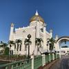 シンボル的モスク スルタン・オマール・アリ・サイフディン・モスク @ ブルネイ