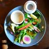 お野菜がたっぷりとれるバーニャカウダ付きランチ@鹿児島市南郡元町