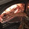 薪ストーブで今流行りの「薪焼き肉」にチャレンジ
