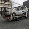 見沼区から放置車両をレッカー車で廃車の引き取り撤去しました。