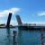 日本最大級のはね橋は恋人の聖地だった@北九州市門司区港町