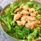上質サラダなら、焦がしマヨのグリーンカレーチキンサラダ(糖質3.5g)が好きだなぁ。
