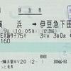 マリンエクスプレス踊り子75号 特急券