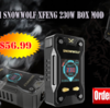 Metallic Rock! Sigelei Snowwolf Xfeng 230W Box Mod $56.99!