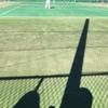 秋の日のテニス