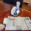 「居酒屋福」で「レバニラ定食(醤油ラーメン)」 680円