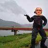 岡山の県北にある川の土手を見に行く9泊10日ツーリング ~3-4日 琵琶湖・岡山~
