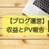 【ブログ運営】収益とPV報告 グーグルアドセンスから PIN を郵送しましたって!!
