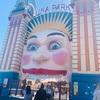 シドニーにある唯一の遊園地「Luna park」