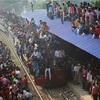 日本とは比較出来ない!?インド、満員電車に乗った時の話