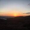絶好、レッドホライゾン(赤岩から見る水平線)