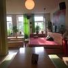 ホステルで急に書道大会。inハンブルク