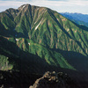 飛騨山脈(北アルプス) 五竜岳 から見る 快晴絶景