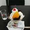 イノダコーヒーコーヒーのゼリープリンパフェ