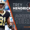 【NFL TOP100 in 2021】73位 DEトレイ・ヘンドリクソン