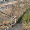 山腹の小道