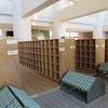 冬休みの学校⑦ 図書館の掲示物&PTA文庫