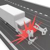 【危険】荷台にTKと書いた危険運転をするトラックに遭遇した【要注意】
