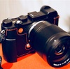 LEICA CL のグリップ改善 〜LIM'S リムズ Italian Genuine Leather Metal grip Half Case for Leica CL がいい感じ〜