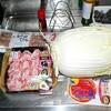 白菜と豚バラのミルフィーユ鍋を作りました。