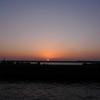 2月8日水平線より昇る熱海の朝日