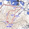 兵庫県加西市の善防山城跡(烏帽子岩コースを歩く)