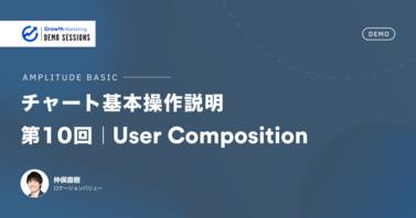 チャート基本操作説明|第10回 User Composition