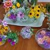 お花の曼荼羅ワーク