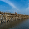 A Famous Bamboo Bridge in Kampong Cham Province
