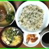 16/11/05の晩御飯(菜飯)