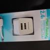 ファミマ スマホ用micro USB TypeBケーブル付きコンセント充電器が買えて便利