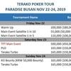 【緊急告知】Terako Poker Tour(TPT)パラダイス釜山にて、始動!