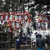 「祭の後」の三吉神社