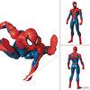 【スパイダーマン】マフェックス『SPIDER-MAN マーベル・コミック Ver.』可動フィギュア【メディコム・トイ】より2019年6月再販予定♪
