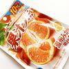 明治|果汁グミ温州みかんと、カバヤ食品|ピュララルグミ