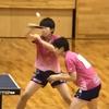 ちひろ選手・かえで選手組(白子高校)女子ダブルス 一回戦 2019 卓球インターハイ 東海大会・東海総体