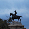 【写真複製・写真修復の専門店】仙台城跡 伊達政宗騎馬像 仙台市