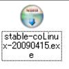 CentOS5.3 on coLinux をインストールしてみた